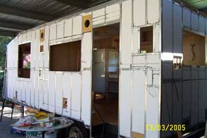I built my own caravan
